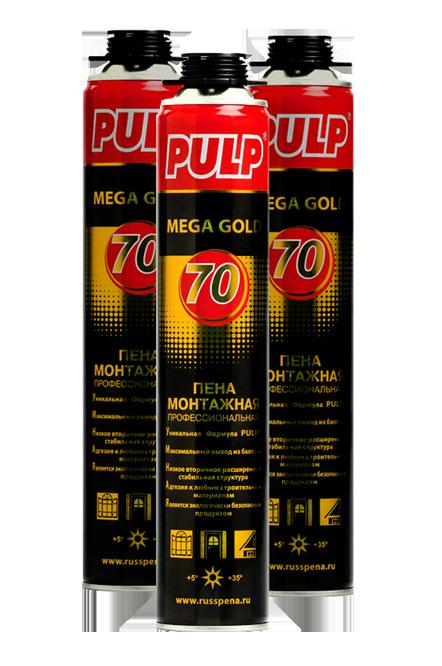 pulp mega gold 70